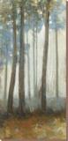 Silver Trees I Reproducción en lienzo de la lámina por Jill Barton