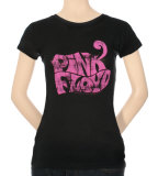 Juniors: Pink Floyd - Pink Logo T-shirts