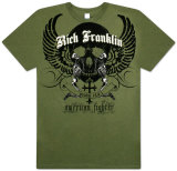 American Fighter - Rich Franklin Crest T-Shirt