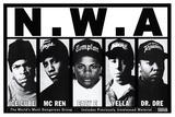 N.W.A - Posterler