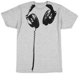 Hodetelefoner T-skjorter