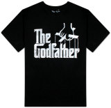 The Godfather - Distressed Logo Shirts