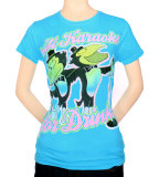 Juniors: Heckle & Jeckle - Will Karaoke for Drinks Shirt