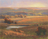 Autumn Color in the Hills Collectable Print by Kim Casebeer