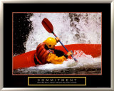 Commitment: Kayak Posters