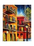 French Quarter Balconies Art by Diane Millsap