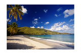 Tranquil Magens Beach, St Thomas, Virgin Islands Photographic Print by George Oze
