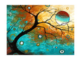 Many Moons Ago Poster von Megan Aroon Duncanson