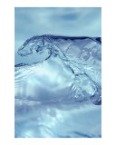 Blue Wave Photographic Print by Hd Connelly