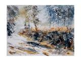 Watercolor 080207 Pôsteres por  Ledent