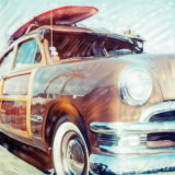 Classic Woody Mounted Print by Rene Griffith