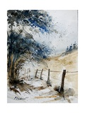 Watercolor 061106 Giclee Print by  Ledent