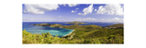 Magens Bay Panorama, St Thomas, US Virgin Islands Photographic Print by George Oze