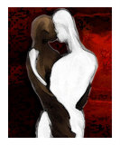 The Kiss Giclee Print by Aloramyst