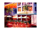 South Beach Sunset Posters by Diane Millsap