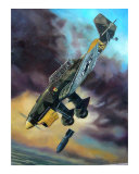 JU-87 Stuka Giclee Print by jack connelly