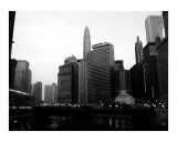 Looking East on Chicago River Photographic Print by Jason Wolf