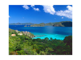Villa with a View, Saint John, US Virgin Islands Photographic Print by George Oze