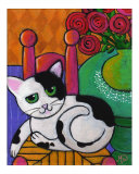 Spot the Cat Giclee Print by Maria Bell