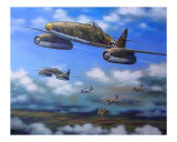 ME-262 German Jets 1945 Giclee Print by jack connelly