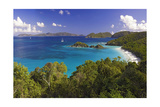 Trunk Bay, Saint John, US Virgin Islands Photographic Print by George Oze
