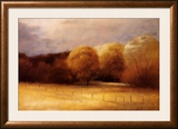 Mellow Evening Glow Print by Robert Striffolino