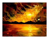 Abstract Arts-Sci Fi Giclee Print by Teo Alfonso