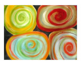 Color In My Life Giclee Print by Rebecca Felland-syring