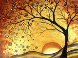 Dreaming in Gold Giclée-Druck von Megan Aroon Duncanson