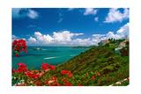 Caribbean Panorama, Fajardo, Puerto Rico Photographic Print by George Oze