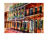 Walk in the French Quarter Giclee Print by Diane Millsap