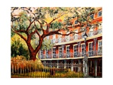 Jackson Square - New Orleans Giclee Print by Diane Millsap
