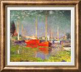 Argenteuil Art by Claude Monet