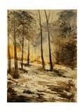 Watercolor 191106 Poster por  Ledent