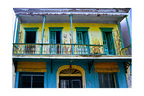 Weatherworn Balcony in Ponce, Puerto Rico Photographic Print by George Oze