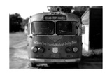 Bus 2 BW Photographic Print by John Gusky