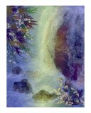 Waterfall Giclee Print by Shelley Xie