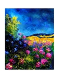 Field Flowers Giclee Print by Ledent