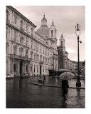 Piazza Navona, Rome Fotodruck von Caimin Jones