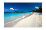 Perfect Caribbean Beach, Saint John, USVI Photographic Print by George Oze
