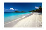 Perfect Caribbean Beach, Saint John, USVI Photographic Print by George Oze