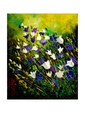Campanulas 56 Giclee Print by  Ledent