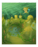 Little Atlantis Giclee Print by K M P Hartman