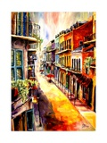 View from a French Quarter Window Giclee Print by Diane Millsap