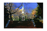 Nassau Hall Tower, Princeton University, NJ Photographic Print by George Oze