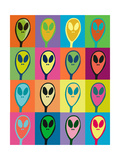 Alien Invasion Photographic Print by Jan Weiss