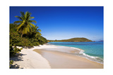 Hawksnest Beach, Saint John, USVI Photographic Print by George Oze