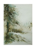 Watercolor 030306 Giclee Print by Ledent