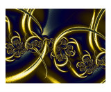 Black And Gold Photographic Print by Vicky Brago-Mitchell