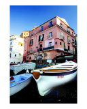 Sorrento fishing boats Photographic Print by Richard Duval